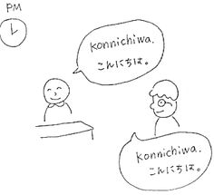 Simple everyday japanese greetings japanese language language greetings and daily expressions konnichiwa hellogood afternoon m4hsunfo