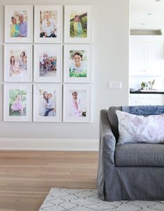 Easy White Gallery Wall - Becki Owens