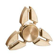 826512654 Y-Shaped Brass EDC Metal Triangle Finger Spinner. Fidget Pen ...