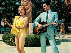 Viva Las Vegas (1964). Elvis was such a hunk! These remind me of my father