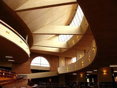 Virgilio Barco Library - Bogotá, Colombia Santa Fe, Libraries, Brick, Stairs, Exterior, Building, Travel, Beautiful, Design