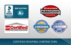 Our Commercial Roofing Certifications