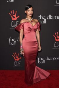 Rihanna's wearing Zac Posen to the 1st Annual Diamond Ball Benefitting The Clara Lionel Foundation (CLF)