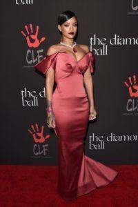 Rihanna's wearing Zac Posen to the 1st Annual Diamond Ball Benefitting The Clara Lionel Foundation (CLF)