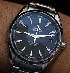 Omega Seamaster Aqua Terra Master Co-Axial Watches Hands-On