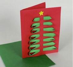 Christmas Card Weave DIY