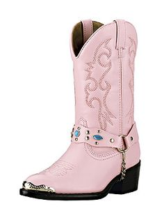 Laredo PINK Kid's Cowgirl Boots   http://www.onlinebootstore.com/great-boots/items/DIC1112.html