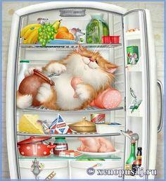 Yum, yum my tummy is so full ...