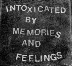Intoxicated...love that word.