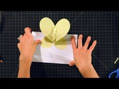 How to Make a Butterfly Pop-Up Card | Pop-Up Cards - YouTube