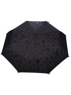 ALEXANDER MCQUEEN Skull Print Umbrella