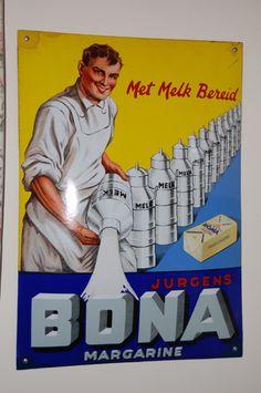 emaille-bord-bona-margarine