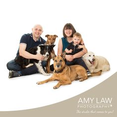 Meet the Hawden Family :) Such a lovely family photo including the dogs :D x  Amy Law Photography | Dog Photography Barnsley | www.amylawphotography.co.uk | 07702624632 | amy@amylawphotography.com