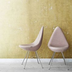 Arne Jacobsen Drop Chair from Fritz Hansen at Lumens.com