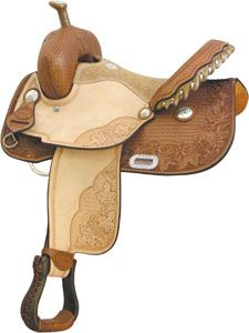 Barrel Saddles for Sale|Billy Cook Maple Star Barrel Saddle