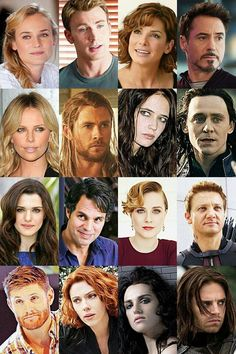 Genderbender Avengers. The ironic thing about this? Female Captain America is Diane Kruger,  a German actress :)