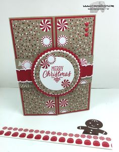 Stamps-N-Lingers.  Hang Your Stocking, Cookie Cutter Christmas bundle, Candy Cane Lane DSP. https://stampsnlingers.com/2016/08/22/stampin-up-sneak-peek-hang-your-stocking-cookie-cutter-christmas/