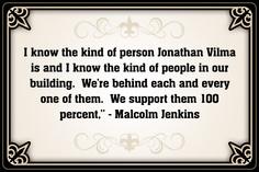 S Malcolm Jenkins #Saints #NOLA #Quote #Quotes