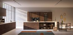 Pinea – Toncelli The Doors, Cello, Shelter, Dining Corner, Island Design, Wooden Tops, Wooden Kitchen, Decorating Blogs, Home Remodeling