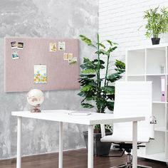 Setting up your home office? Decorate it with a style you'll always want to be surrounded by. Our Pin Board is the perfect start. You can also customize the fabric style and size to make a board that fits best with your space. ✨...#Corkboarddotcom #Corkboard #wallartdecor #pinterestinspired #fabrica #pinboard #chalkboard #homedecorlovers #interiorstyle #interiorgoals #bulletinboard #bedroomdetails #modernstyle #customcorkboard #houseandhome #ho Office Bulletin Boards, Fabric Bulletin Board, Office Art, Home Office Decor, Office Ideas, Home Decor, Creative Office Space, Creative Home, Corkboard Calendar
