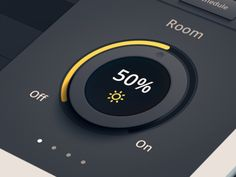 Dribbble - Lighting Dimmer Dial by James Cipriano