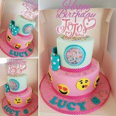 Jojo Siwa birthday party ideas. Jojo Siwa Cake.