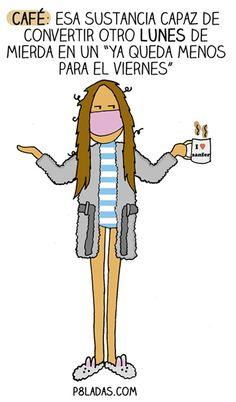 El café del lunes ♡ Teresa Restegui http://www.pinterest.com/teretegui/ ♡