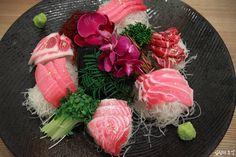 Tuna, sliced raw fish (참치회)