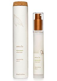 Amala Rejuvenating Serum | A powerful antioxidant trio of pure Vitamin C-rich Acerola, Sea Algae and Cocoa Bean naturally repair skin while protecting it from environmental and free radical age damage