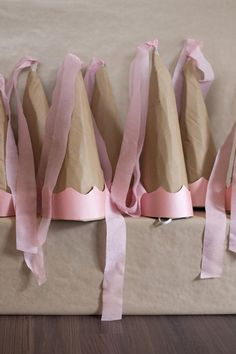 Brown Paper, String & Princesses Party via Kara's Party Ideas | KarasPartyIdeas.com #princessparty (6)