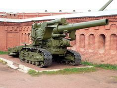 Russian WWII Howitzer 203mm M1931 B4. That's one big hunk of metal.
