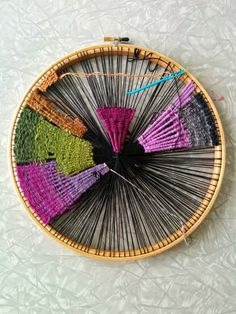 craftophilia: PROJECT REPORT 2 - Circular Weaving