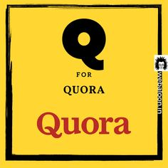 Q for Quora . For any of your digital marketing needs. ☎ Call us at: 7276491310 Digital Marketing Strategist, Best Digital Marketing Company, Business Branding, Business Marketing, Online Marketing Services, Marketing Ideas, Social Media Tracker, Branding Services, Pune