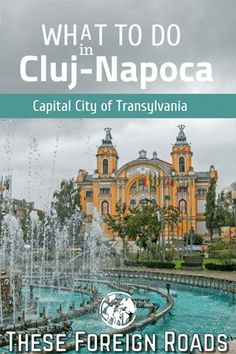 What To Do in Cluj, the Capital of Transylvania If you like this surprise travel trip. Check others on my surprise vacation board :) Thanks for sharing!What To Do in Cluj, the Capital of Transylvania Europe Travel Guide, Europe Destinations, Travel Trip, Time Travel, Places To Travel, Places To Visit, Visit Romania, Romania Travel, Travel Inspiration