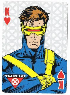Cyclops - King of Hearts by stormantic, via Flickr