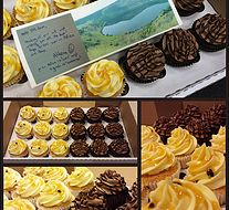White Orchid Bakery - Postcard Cake Cupcakes #fromAfricawithlove