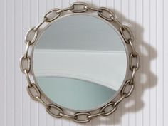 Mirror frames come in all different shapes and sizes. Get inspired to decorate your home with these mirror frame photos.