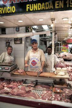 Carnicería en  Mazatlán, Mexico