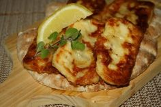 Cypriot Fried Haloumy Cheese (Saganaki Haloumi)  Read more at: http://greek.food.com/recipe/cypriot-fried-haloumy-cheese-saganaki-haloumi-424925?oc=linkback