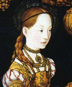 My own little corner of the world: Historical Women: Kristina of Saxony