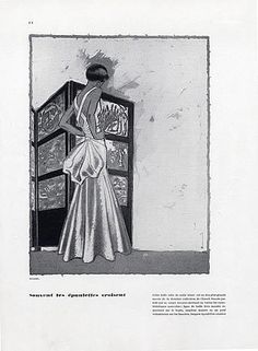 Chanel Evening Gown White Satin (1931)   Coco Chanel #CocoChanel #ChanelModes #ChanelVintage #Chanel1930 Visit espritdegabrielle.com   L'héritage de Coco Chanel #espritdegabrielle