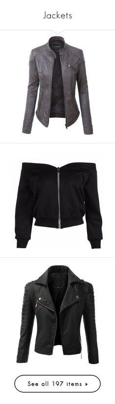 """Jackets"" by punkrockprincess83 ❤ liked on Polyvore featuring outerwear, jackets, coats, tops, coats & jackets, vegan motorcycle jacket, fake leather jacket, vegan biker jacket, quilted biker jacket and moto biker jacket"