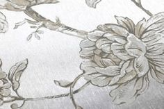 Wallpaper Elena (Silver metallic, Anthracite, Beige, Cream) | Wallpaper from the 70s Silver Wallpaper Metallic, Cream Wallpaper, Basic Colors, Surface Design, Beige, Gold, Metallic Wallpaper, Wall Papers, Groomsmen