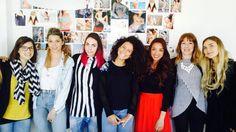 Olimpia Mariani, Giselle Gisa Barbieri, Beatrice Croce, Susanna Ismenghi, Chiara Collinelli, Francesca Magnani, Giusy Guida – Dunnas Italian Office.  #womanpower #dunnas #showroom #comingsoon #girls #bikini