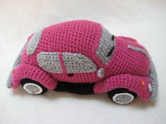 Amigurumi VW Beetle Volkswagen Inspired Bug Car Crochet