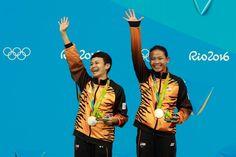 Malasia gana su primera medalla en Olimpiadas. Visite nuestra página y sea parte de nuestra conversación: http://www.namnewsnetwork.org/v3/spanish/index.php #nnn #bernama #malasia #malaysia #kl #rio #olympics #olimpiadas #boleh #deportes #sports #pics #fotos #noticias #news #medalla #natacion #nado #plata