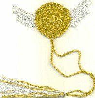 Golden snitch bookmark- I have some friends that would looovvvveeee this!!