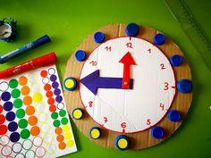 Reloj para aprender las Horas | Los Inventos de Mamá Holiday Homework, Baby Shark, Activities For Kids, Lily, Fun, Homeschooling, Drink, Educational Crafts, Easy Crafts