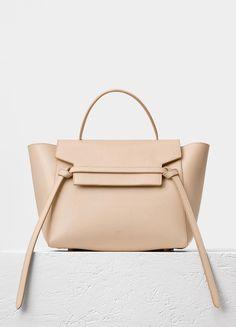 155b9d0946e Mini Belt Bag in Grained Calfskin - Céline Celine Belt Bag Mini, Celine Bag,