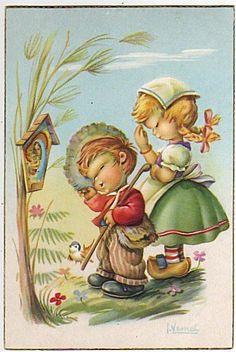 I. Vernet postcard